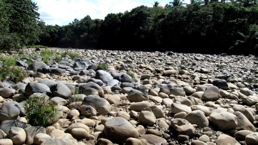 River of a million stones