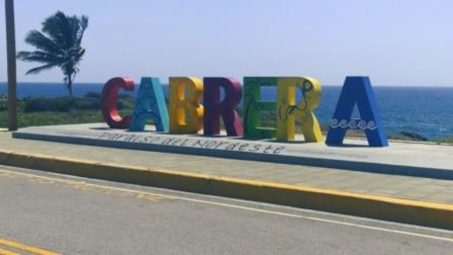 Cabrera Sign on the Malecon